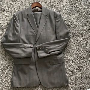 Banana Republic suit
